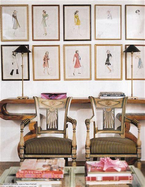 Fashion Wall Decor by Fashion Illustration Gallery Walls Effortless Style