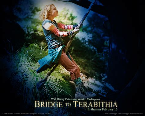 Novel Fantasi Best Seller Bridge To Terabithia bridge to terabithia wallpaper 1280x1024 wallpoper 130756
