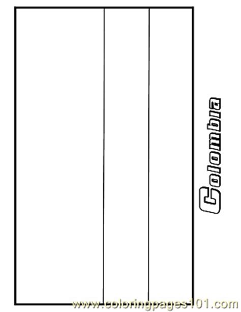 Columbia Flag Coloring Page Colombia Coloring Page Free Flags Coloring Pages by Columbia Flag Coloring Page