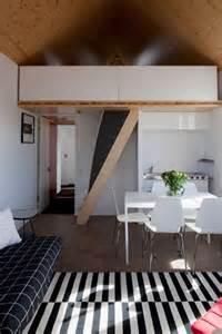 Mini monochrome flat small living room amp kitchen design ideas