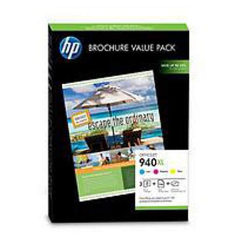 hp business publishing printer 940xl officejet brochure