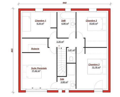 Plan De Maison Facade by Plan Maison Facade 10m