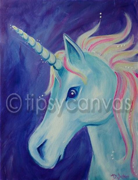25 best ideas about unicorn painting on unicorn anbu and hanging canvas