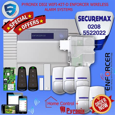 pyronix enforcer wireless home security digi wifi app kit
