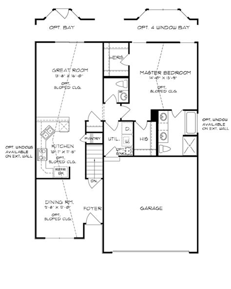 continental homes of floor plans