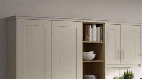 classic cornice accessories and extras to match new kitchen cabinet doors