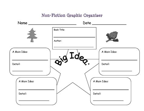 reading biography graphic organizer primary reading and writing rubrics freebie graphic