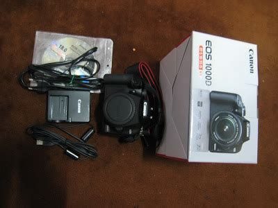 Kamera Canon 1000d Only kamera 2ndhand bundle like new condition in box canon eos