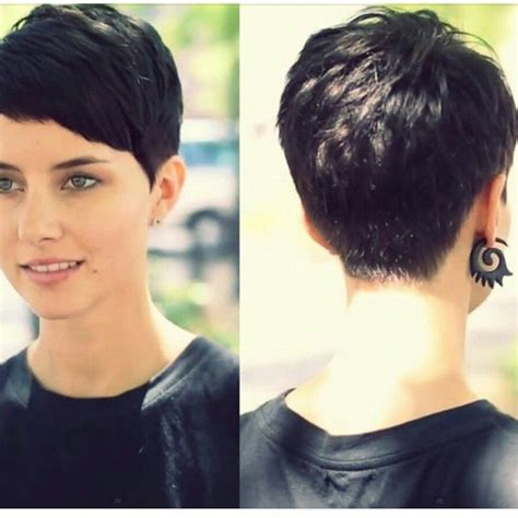 pixie haircuts  women  short pixie