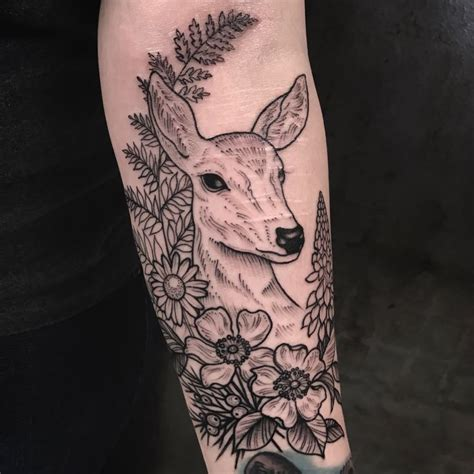 waukesha tattoo company best 25 doe ideas on watercolor deer