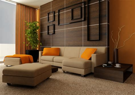 pretty living room with beige accents wall feat brown 33 living room designs with beautiful woodwork throughout