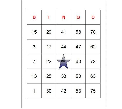 Bingo Cards Template Excel by How To Make Bingo Cards In Excel With Pictures Ehow