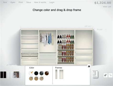 Ikea Closet Planner by Pin By L On Home Bedroom Wardrobe
