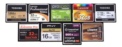best flash top 10 best compact flash memory cards 2015