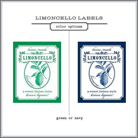 printable limoncello tags printable limoncello labels bing images