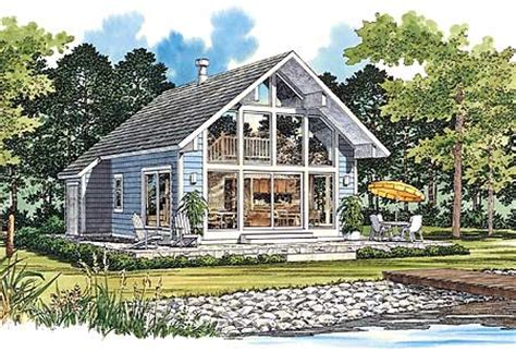 Style Vacation Homes | chalet style vacation home plan 81323w 1st floor