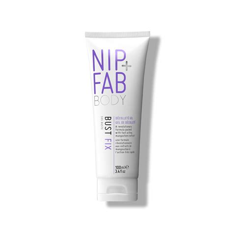Nip Fab bust fix bust d 233 collet 233 targeted bodycare nip fab