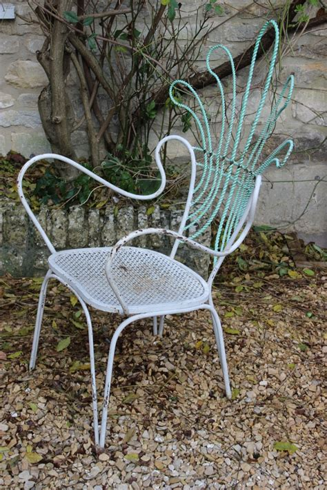 great set of 8 circa 1940s italian garden chairs furniture