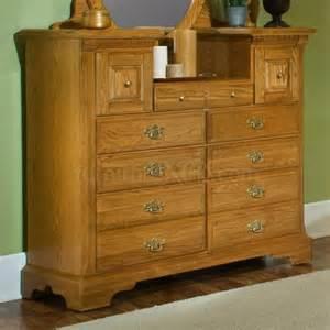 Oak Bedroom Dressers 920 003 Vaughan Bassett Furniture Oak Ii Vanity
