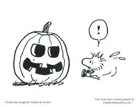snoopy halloween coloring pages treasured sheets colorine
