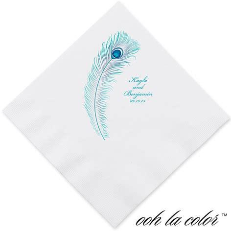 ausgefallene servietten feather fancy dinner napkin s bridal bargains