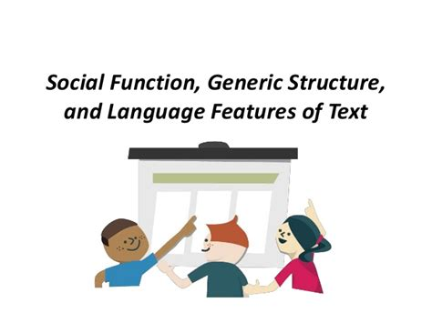 purpose and generic structure of biography materi social function generic structure and language