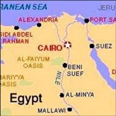 middle east map cairo oxford academy