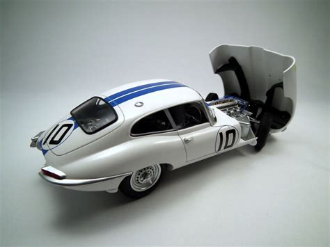 Modellbausatz Auto by Heller S Car Model Kit Jaguar E Type Model Kits Cars