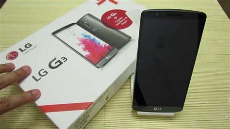 Lg G3 Ram 2gb unboxing lg g3 16 gb 2gb ram 4g lte