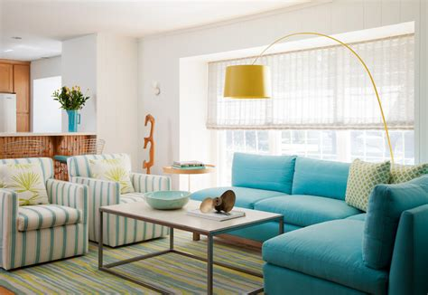 Living Room Turquoise Sofa Turquoise Sectional Sofa Cottage Living Room Amanda
