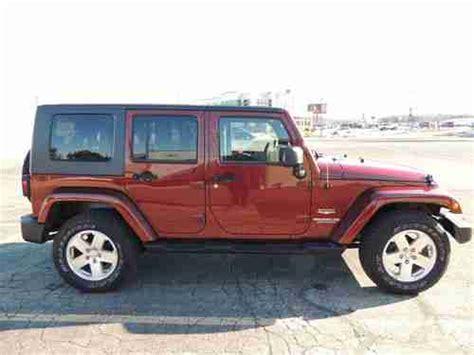 2008 Jeep Wrangler Lifetime Powertrain Warranty Sell Used 2008 Jeep Wrangler Unlimited Sport