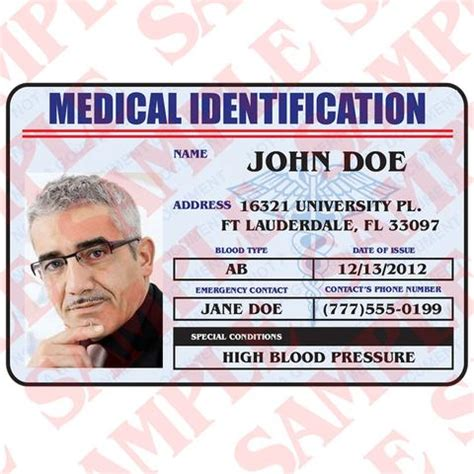 medical id card design custom id cards tagged quot civilian identification quot maxarmory