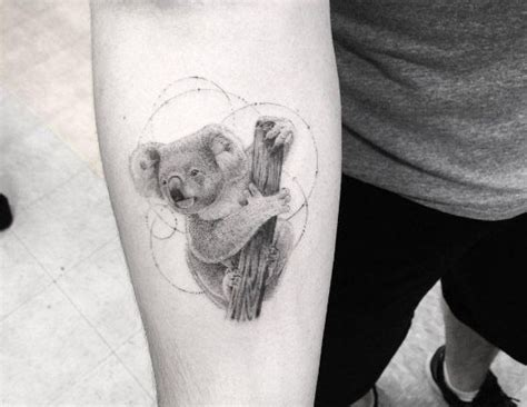 koala tattoo designs best 25 koala ideas on