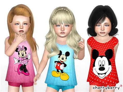 Mickey Dress Cc 98 best the sims 3 images on sims hair chang