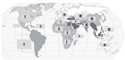 world cities map test ap world regions quiz by mrgregirwin