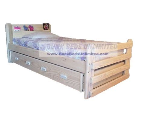 beds unlimited twin bed with trundle plans