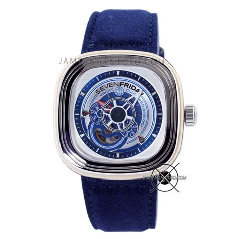 Jam Replika Seven Friday Clone 1 1 With Original 7 gambar jam tangan sevenfriday yacht club blue limited p3 06 replika clone original