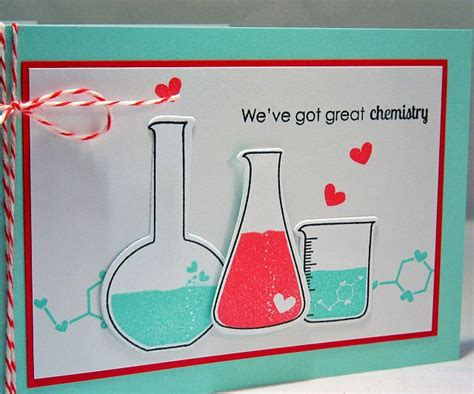 chemistry valentines day card great chemistry s day card