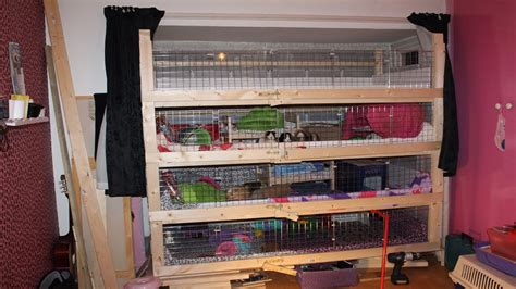 House Blueprints For Sale by Diy Home Made Guinea Pig Cage 4 Storey Youtube