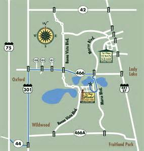 map of the villages florida neighborhoods directions to the villages florida