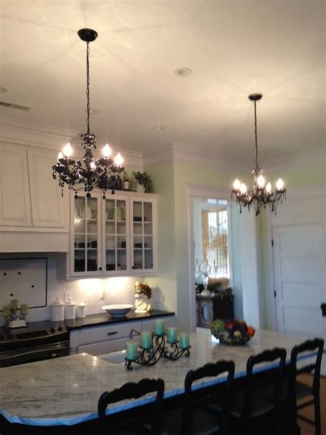 kitchen of kitchen chandelier ideas rustic