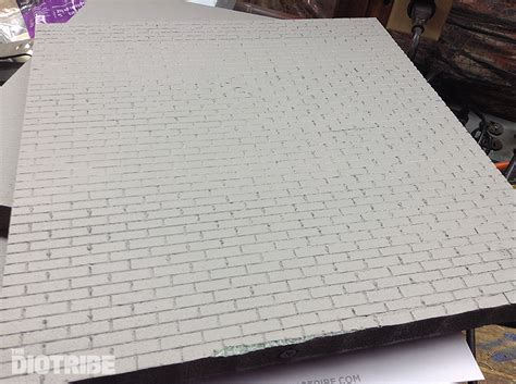 4 walls tutorial how to create realistic brick walls for your diorama