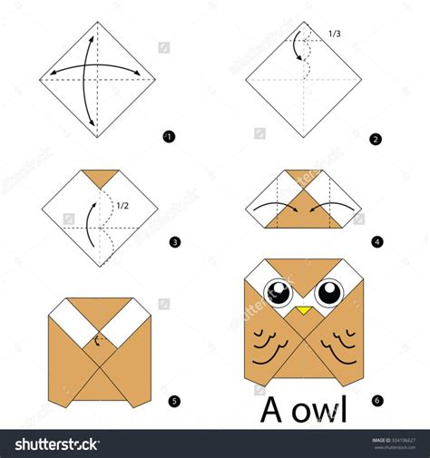Easy Origami Animals Step By Step - free coloring pages step by step how make
