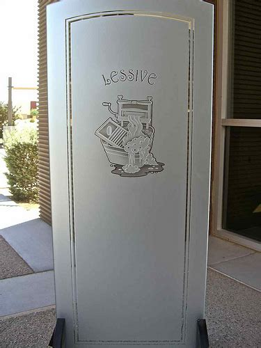 Laundry Room Door Etched Glass Etched Glass Laundry Room Door 3d Carved 2 Flickr Photo