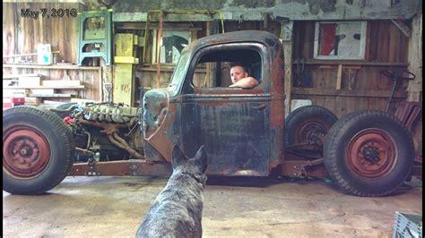 building a rat rod 1946 ford 1 ton truck rat rod build
