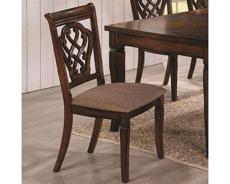 coaster dining chair coaster upholstered dining chair co 103392 set of 2