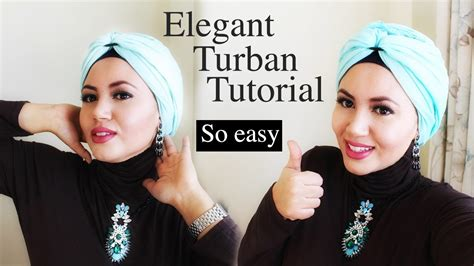 tutorial hijab pashmina menjadi turban turban hijab tutorial with pashmina very easy tuto turban