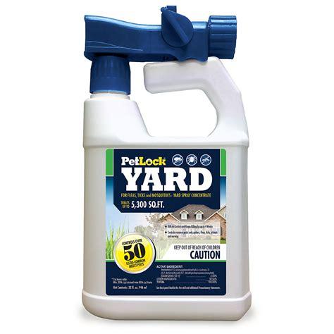 spray for ticks in backyard petlock yard spray concentrate for fleas ticks and