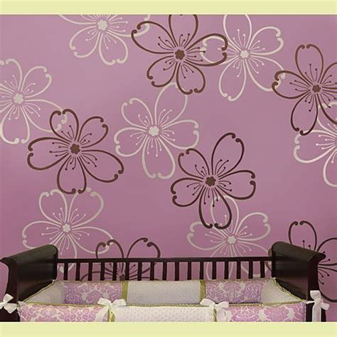 wall stencils flower wall stencils wall painting stencils designs with paint