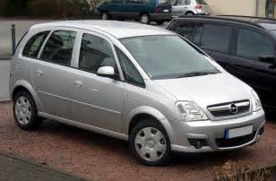 Opel Mariva Opel Meriva 1 6 16v Technical Details History Photos On